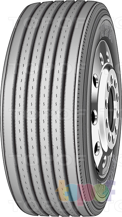 Шины Michelin XZA. Грузовая шина для рулевой оси