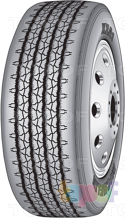 Шины Michelin XZA1