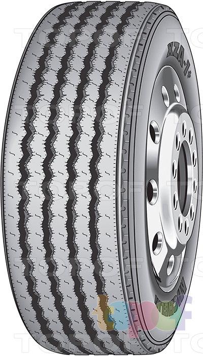 Шины Michelin XZA1 Plus. Грузовая шина для рулевой оси