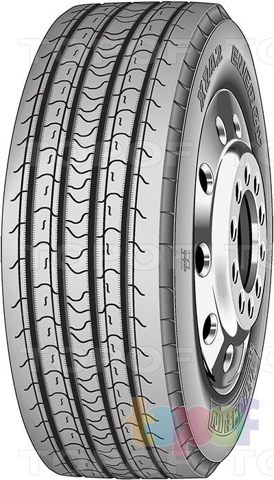 Шины Michelin XZA2 Energy. Грузовая шина для рулевой оси