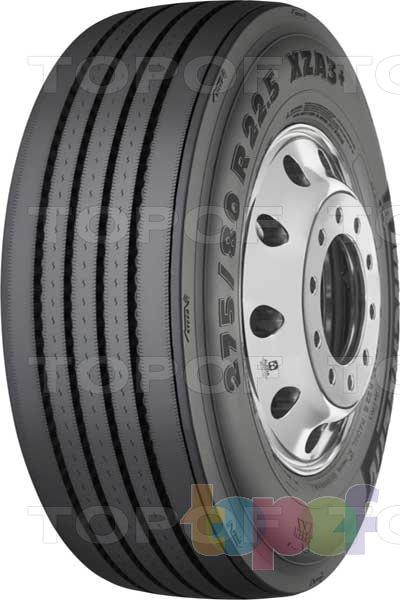 Шины Michelin XZA3+ Evertread. Грузовая шина для рулевой оси