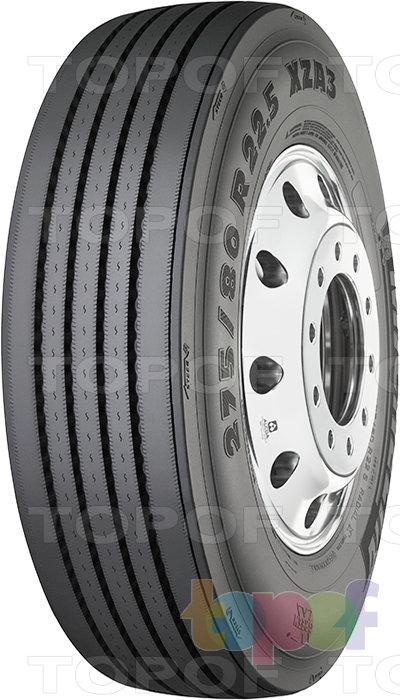 Шины Michelin XZA3. Грузовая шина для рулевой оси