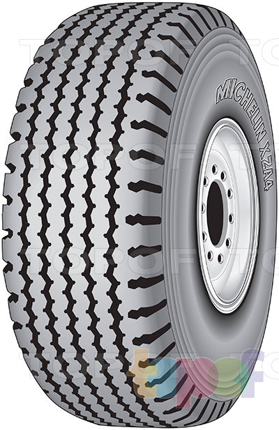 Шины Michelin XZA4. Грузовая шина для любой оси