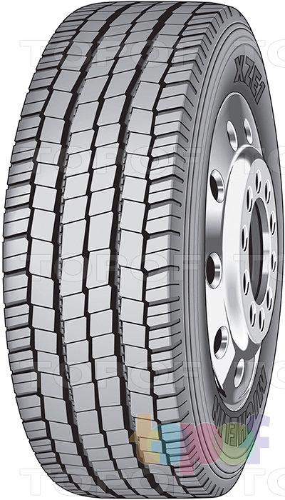 Шины Michelin XZE1. Универсальная шина для рулевой оси
