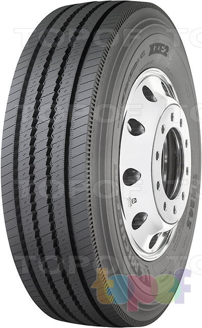 Шины Michelin XZE2. Универсальная шина для любой оси