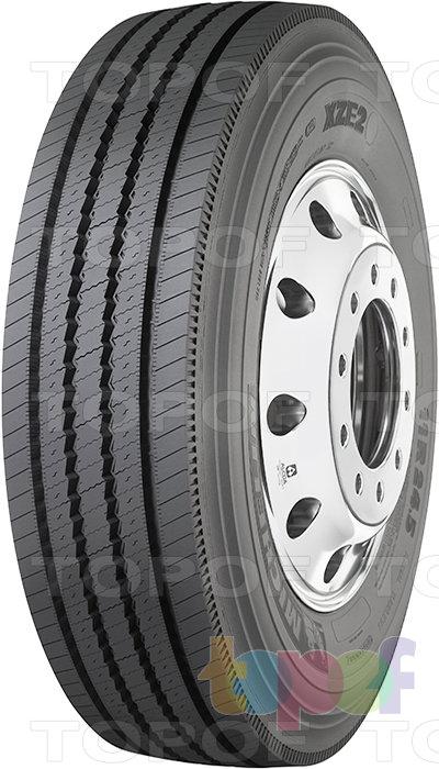 Шины Michelin XZE2 (2008). Грузовая шина для рулевой оси