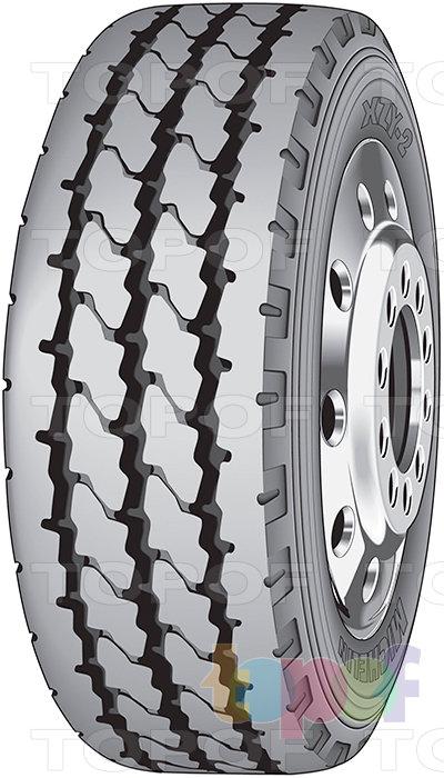 Шины Michelin XZY2. Изображение модели #1
