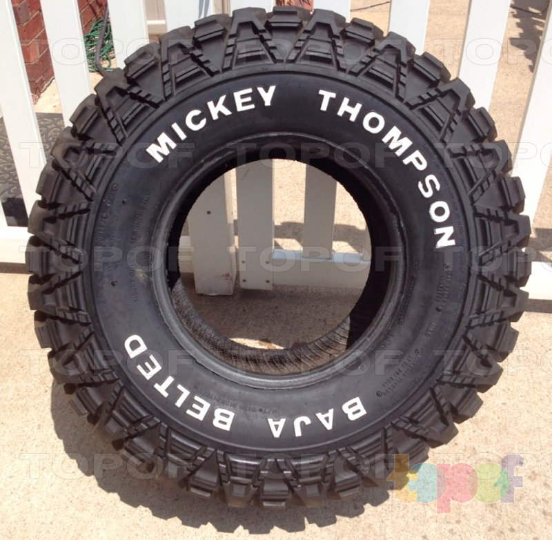 Шины Mickey Thompson Baja Belted. Изображение модели #2