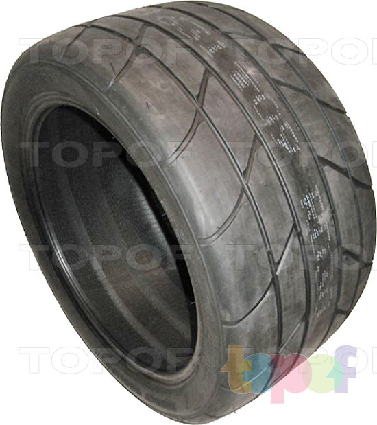Шины Mickey Thompson ET Street Radial II. Бочком