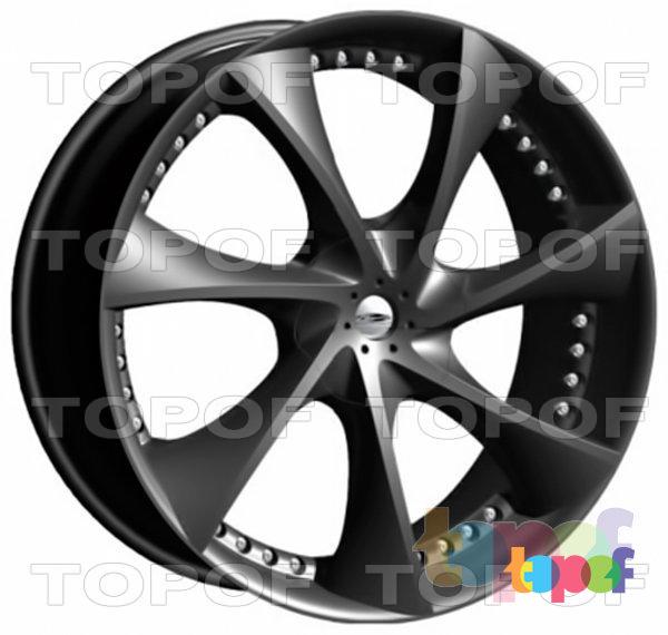 Колесные диски MKW Wheels (Mi-Tech) MK-ZF-09. Изображение модели #1