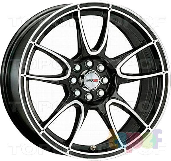 Колесные диски Motec Nitro (MCR1). Flat black polished