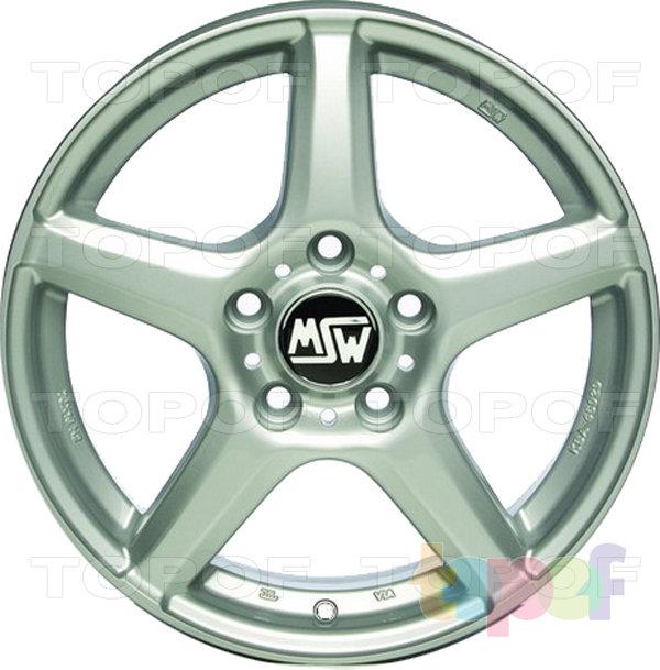 Колесные диски MSW 14. Изображение модели #2