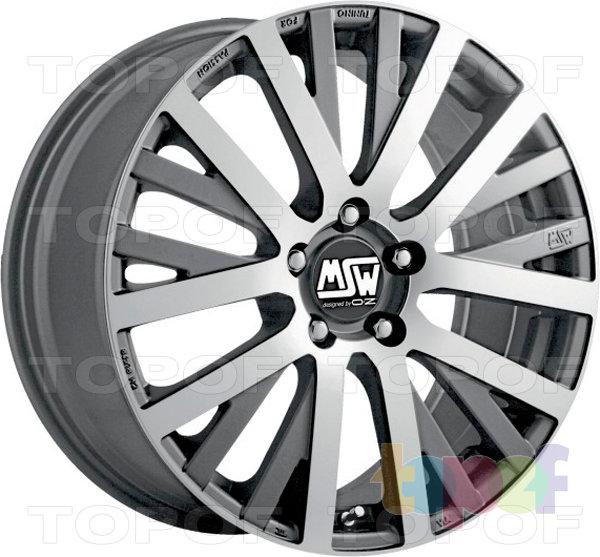 Колесные диски MSW 18. Изображение модели #1