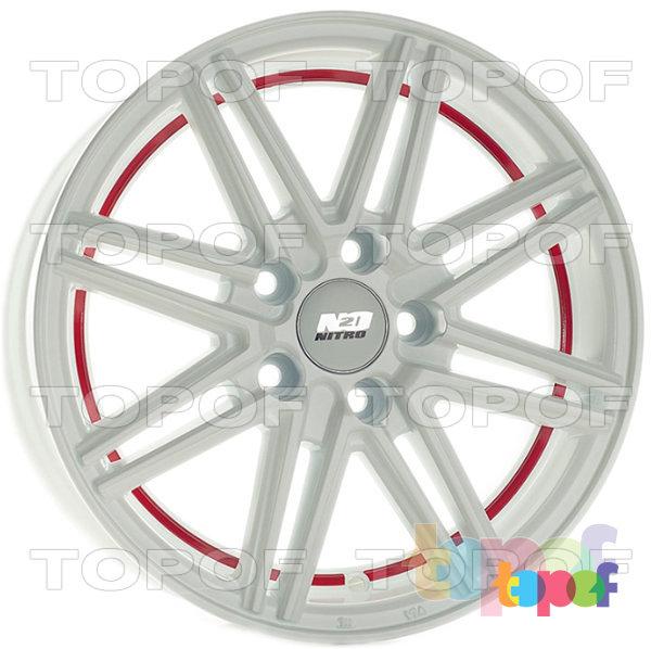 Колесные диски Nitro Y3179. Изображение модели #1