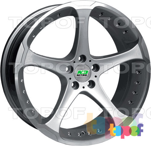 Колесные диски Nitro Y519. Изображение модели #1