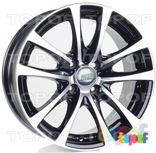 Колесные диски Nitro Y6207. Изображение модели #1