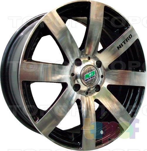 Колесные диски Nitro Y823. Изображение модели #1