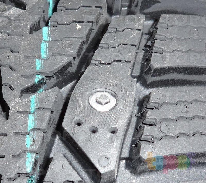 Шины Nokian Hakkapeliitta 7. Блок протектора с шипом