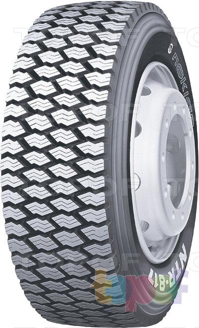 Шины Nokian NTR 817. Зимняя шина для ведущей оси