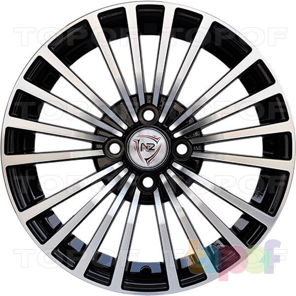 Колесные диски NZ 1021. BKF