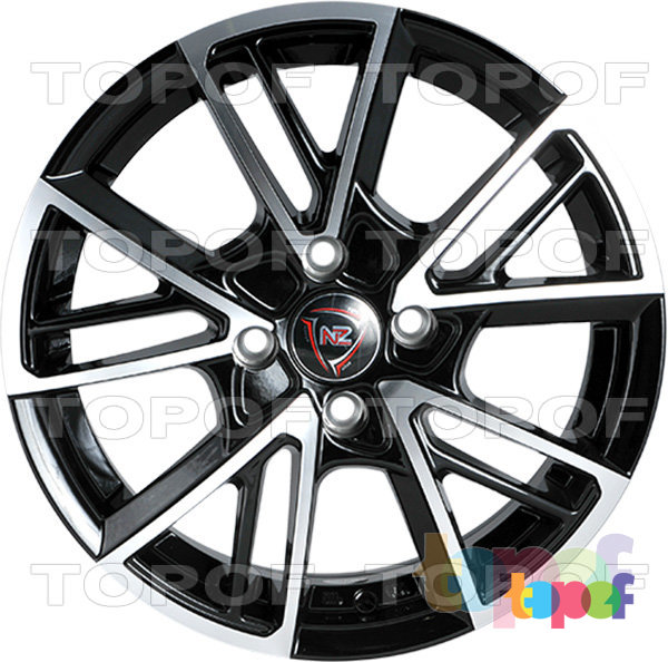 Колесные диски NZ F14. Изображение модели #1