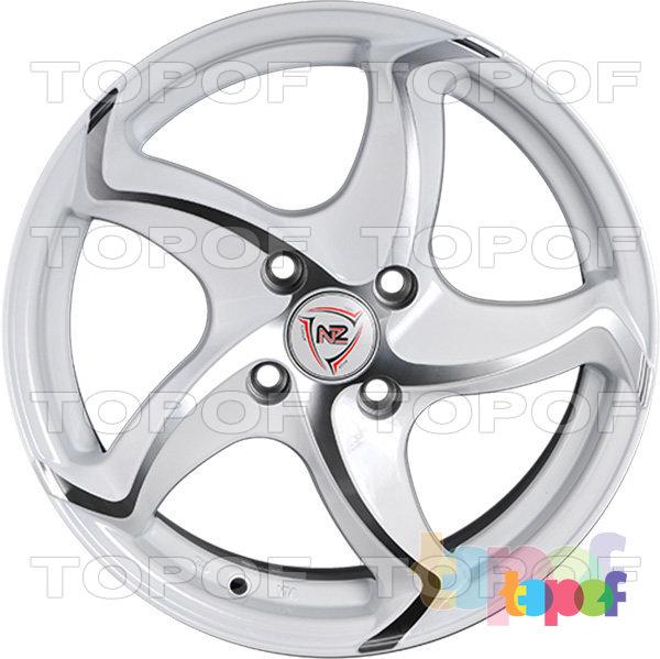 Колесные диски NZ F17. Изображение модели #3