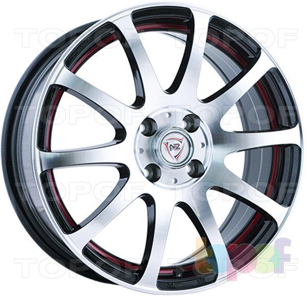 Колесные диски NZ F21. Изображение модели #2