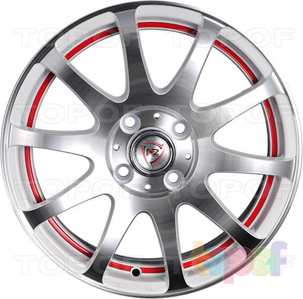 Колесные диски NZ F21. Изображение модели #3