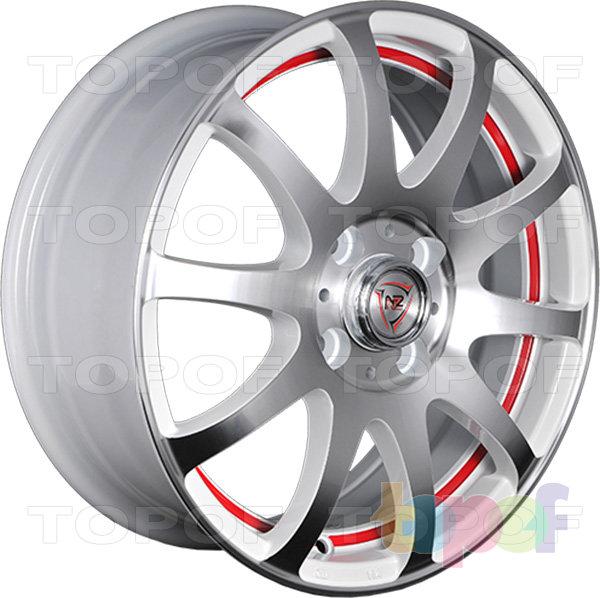 Колесные диски NZ F21. Изображение модели #4