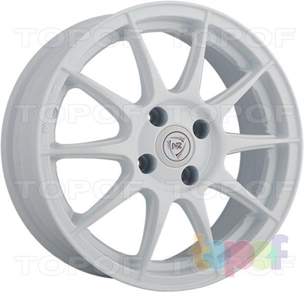 Колесные диски NZ F27. Изображение модели #4