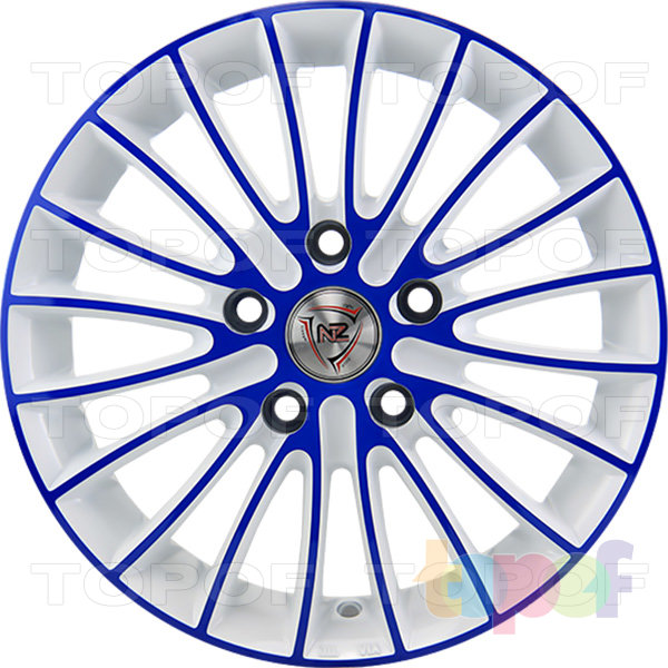 Колесные диски NZ F49. W+BL