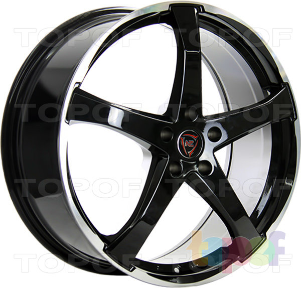 Колесные диски NZ F51. Изображение модели #1