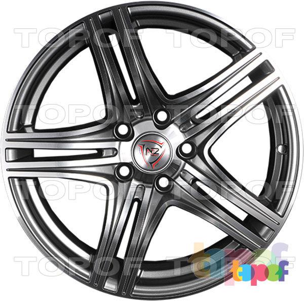 Колесные диски NZ F6. Изображение модели #3