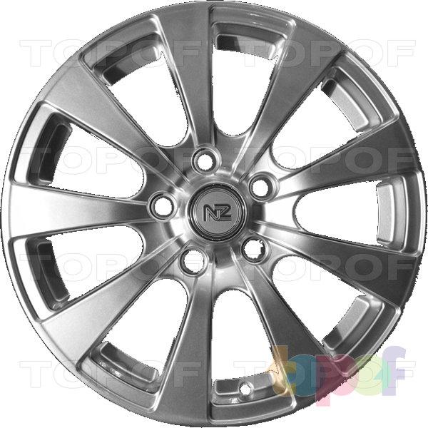 Колесные диски NZ F6009. Изображение модели #1