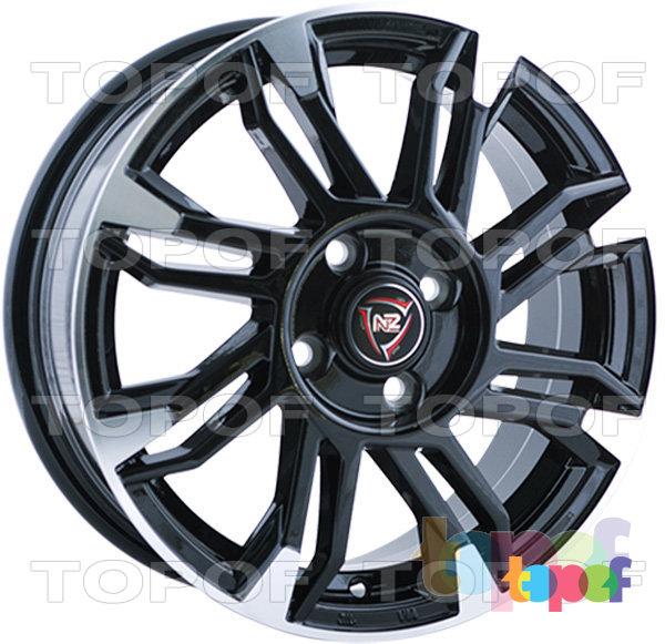 Колесные диски NZ F8. Изображение модели #2