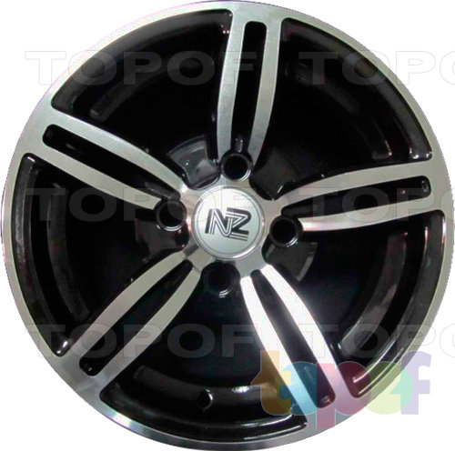Колесные диски NZ SH305. Цвет BKF