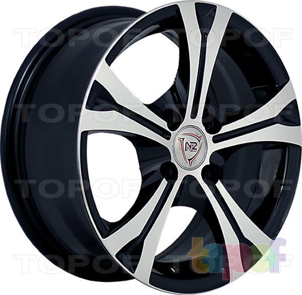 Колесные диски NZ SH529. BKF
