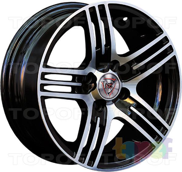 Колесные диски NZ SH606. BKF