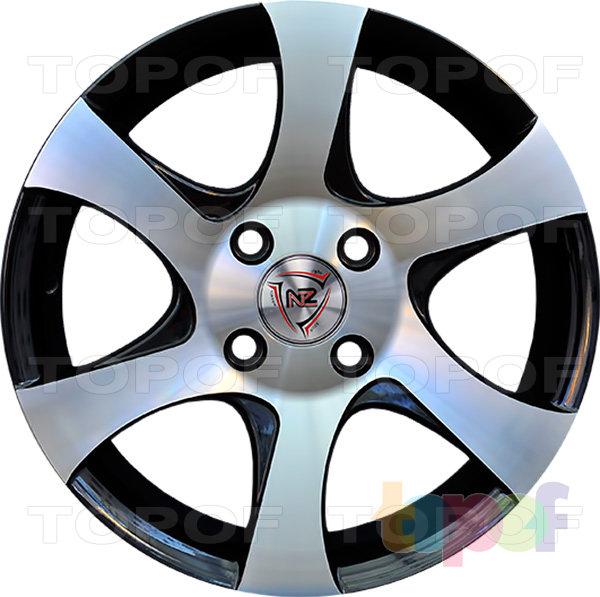 Колесные диски NZ SH622. BKF