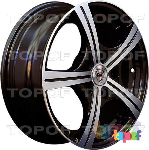 Колесные диски NZ SH631. BKF