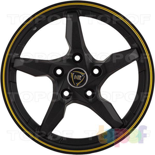 Колесные диски NZ SH635. Изображение модели #1