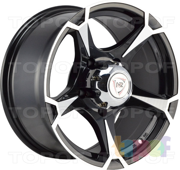 Колесные диски NZ SH659. Цвет BKF