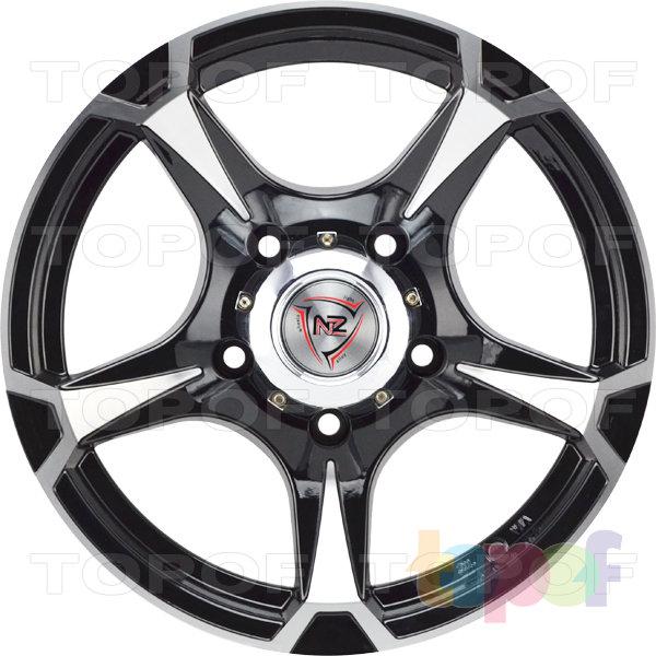 Колесные диски NZ SH659. Цвет черный полированный