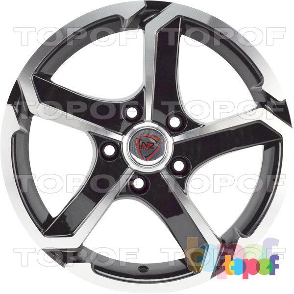 Колесные диски NZ SH665. Цвет черный полированный