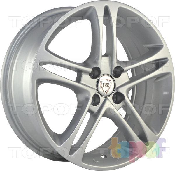 Колесные диски NZ SH669. Цвет Silver