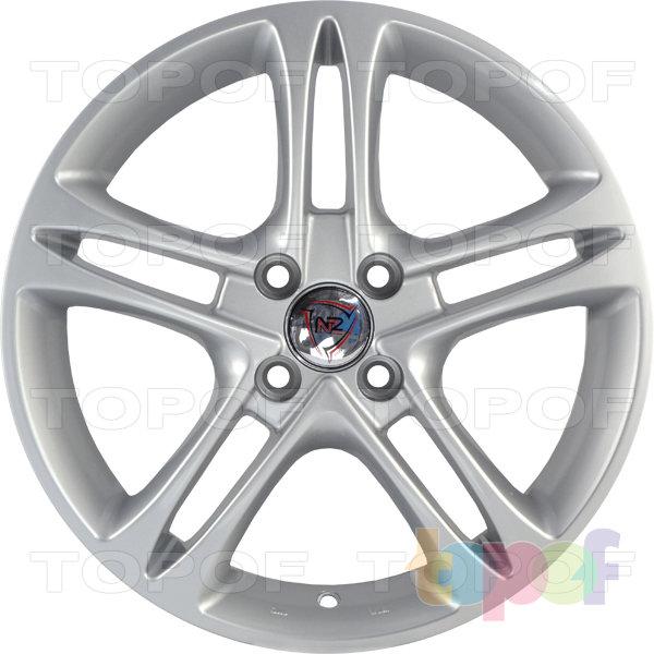 Колесные диски NZ SH669. Цвет серебристый