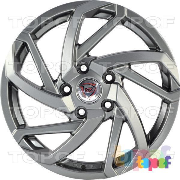 Колесные диски NZ SH673. Цвет серый матовый