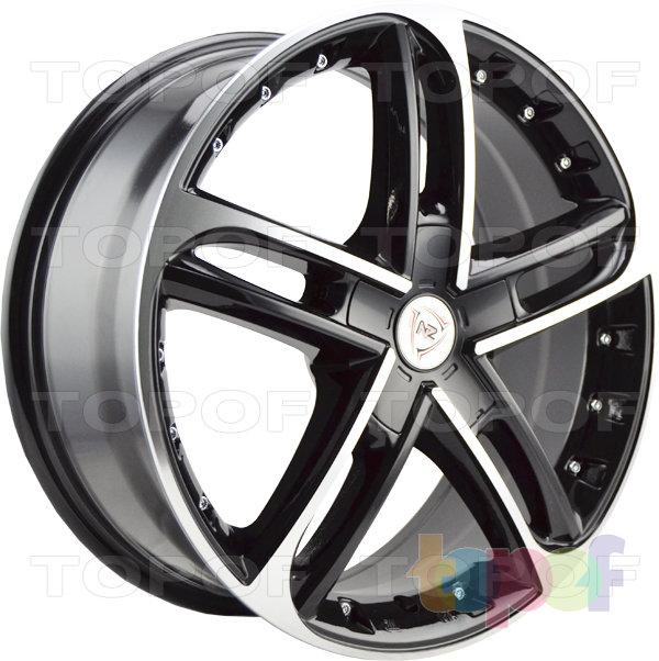 Колесные диски NZ SH676. Цвет BKF