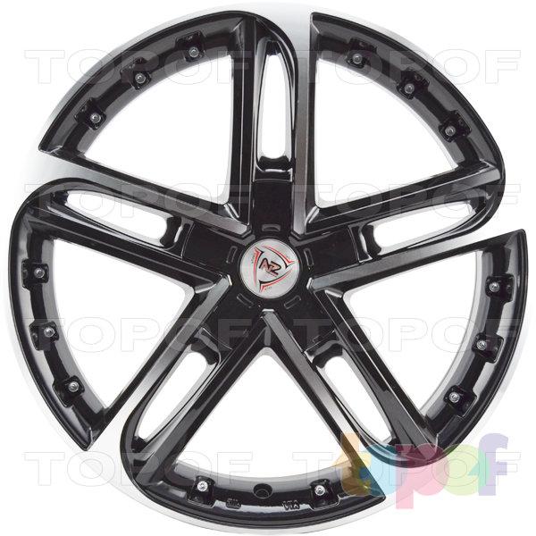 Колесные диски NZ SH676. Цвет черный полированный