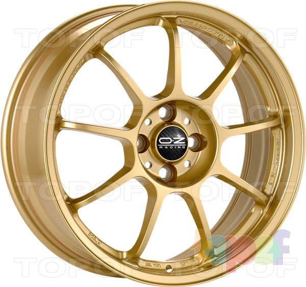 Колесные диски O.Z Racing Alleggerita HLT. Цвет Matt Blue